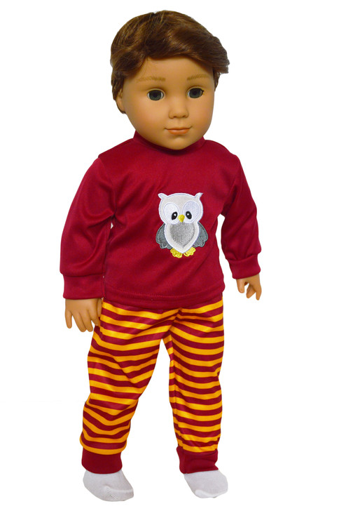 My Brittany's Harry Potter Inspired PJ's for American Girl Dolls- 18 Inch Doll PJ's
