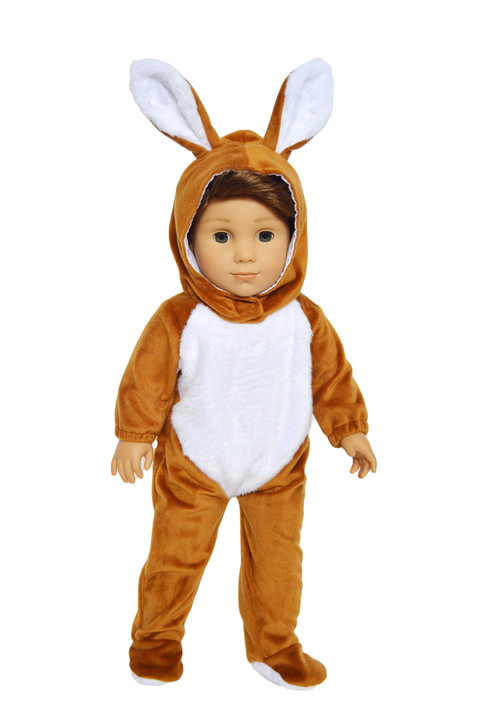 My Brittany's Brown Easter Bunny Costume for American Girl Dolls
