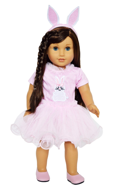 Bunny Hop Dress For American Girl Dolls