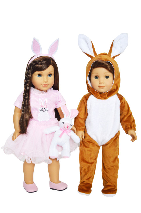 Value Easter Set for American Girl Dolls Includes Bunny