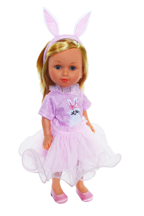 Pink Bunny Hop Dress Fits 14 Inch Dolls
