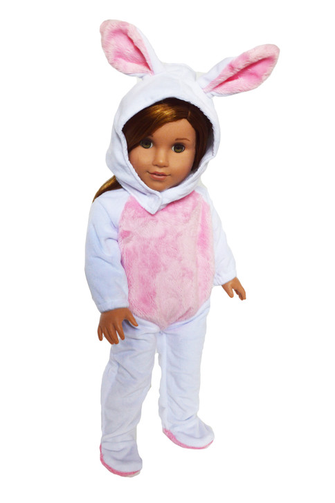 White Bunny Costume for American Girl Dolls
