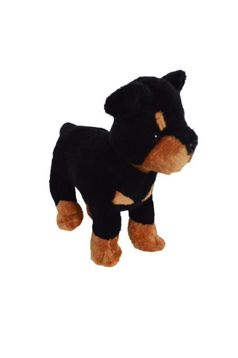 8 Inch Rottweiler Puppy Dog for American Girl Dolls