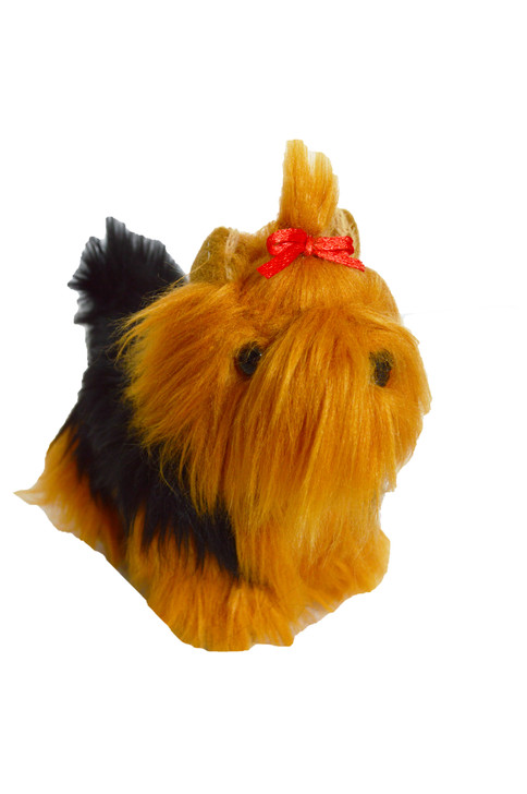 8 Inch Mini Yorkshire Terrier Puppy Dog for American Girl Dolls