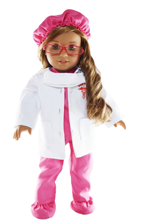Pink Inspiring Doctor Set for American Girl Dolls