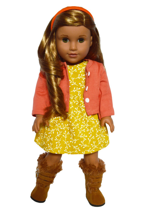 Autumn Breeze Outfit fits American Girl Dolls