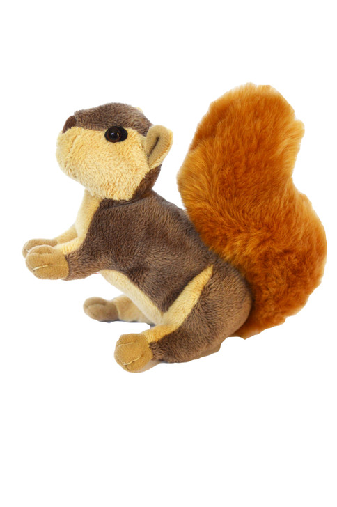 Mini Plush Woodland  Baby Squirrel Compatible with American Girl Dolls and Wellie Wisher Dolls