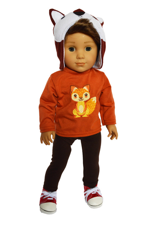 My Brittany's Woodland Fox Outfit Fits American Girl Dolls