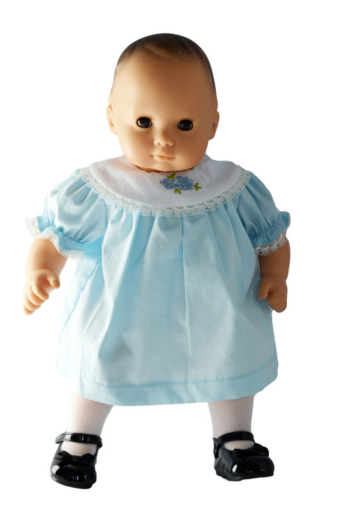Robins Egg Blue Easter Dress Fits 15 Inch Bitty Baby Dolls