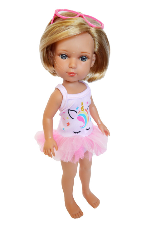 Unicorn Swimsuit Fits 14 Inch Lorelei and Friends