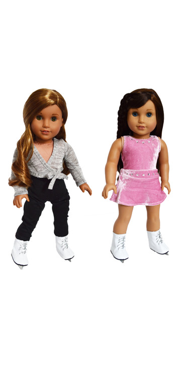 Skating Outfit for American Girl Dolls- 18 Inch Doll Clothes