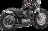 Cobra El Diablo 2 into 1 Exhaust - 86-03 Sportster - Black