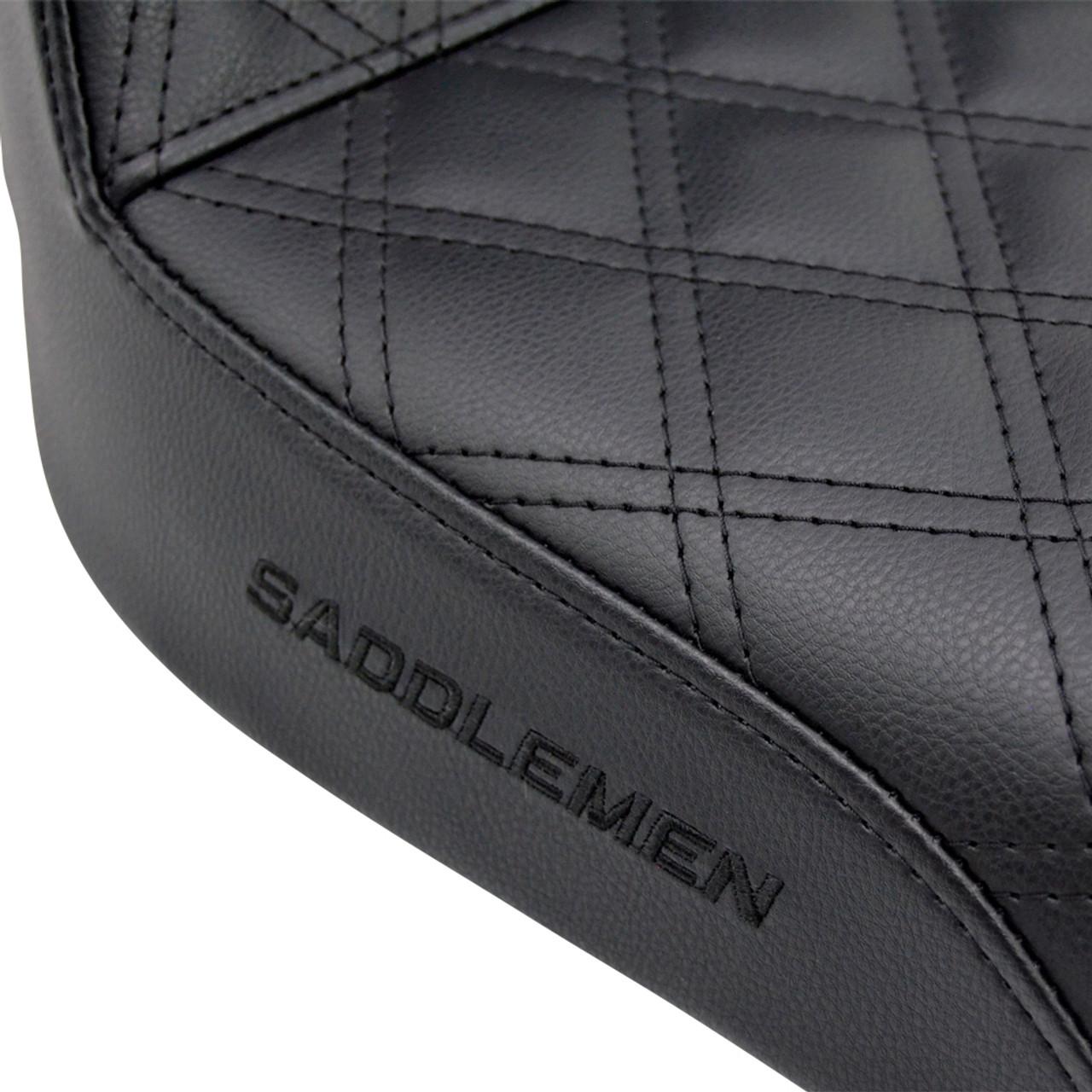 Saddlemen Step Up LS Seat Dyna 896-04-172 1996-2003 Throttle Addiction