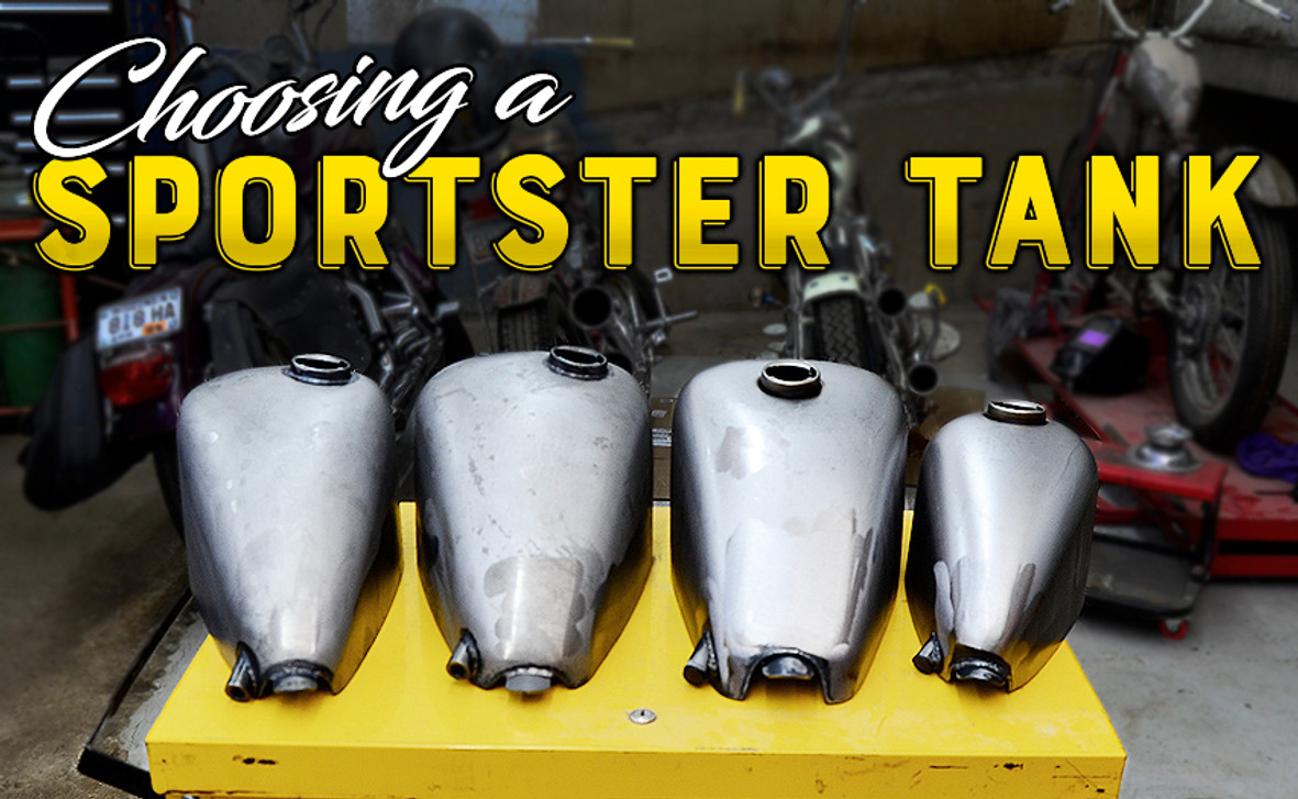 Choosing a Sportster Gas Tank for your Motorcycle - Throttle ... on