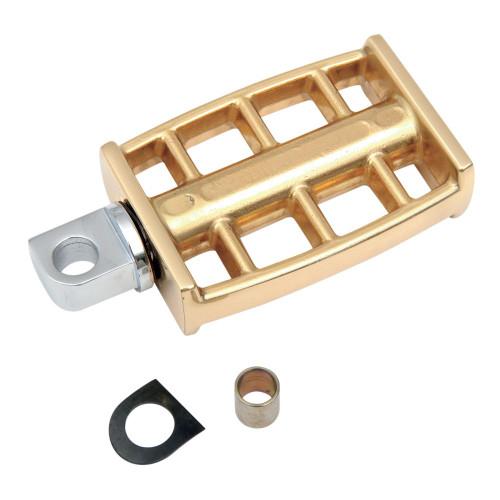 Drag Specialties Brass Kick Pedal