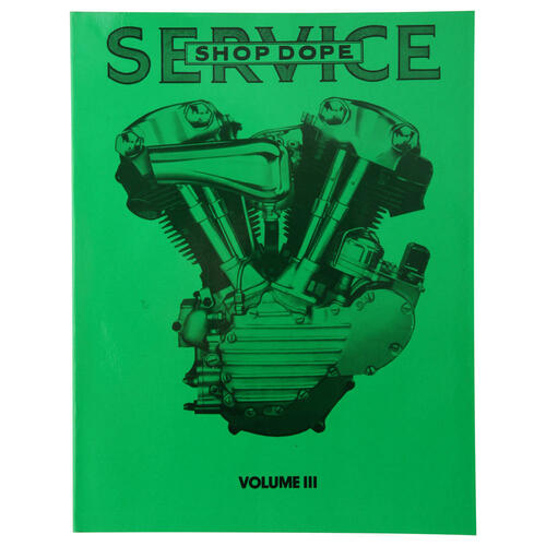Factory Service Bulletin Shop Dope - Vol 3 for 1941-1956