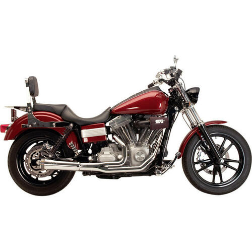 Supertrapp Supertrapp - Fat Shot 2-Into-1 Exhaust - Dyna FXD 2012-2017