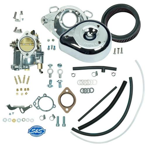 SandS SandS Cycle - Super E Carburetor Kit Without Manifold - 1993-1999 Big Twin Evolution Models