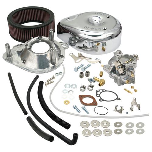 SandS SandS Cycle - Super E Carburetor Kit Without Manifold - 1984-1992 Big Twin Evolution Models