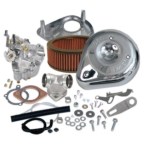 SandS SandS Cycle - Super E Carburetor Kit - 2004-2006 Sportster Models