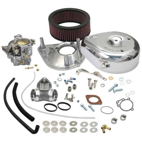 SandS SandS Cycle - Super E Carburetor Kit - 1986-1990 Sportster Models