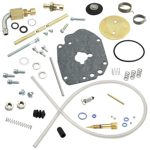 SandS SandS Cycle - Super E Carburetor Master Rebuild Kit - Regular Gas Inlet