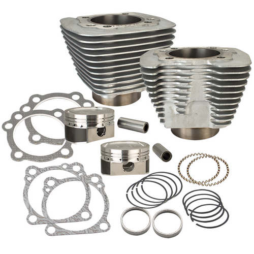 SandS SandS Cycle - 883 To 1200 Conversion Kit Sportster 1986-2017 - Silver