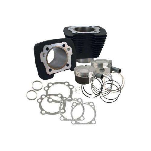 SandS SandS Cycle - 1250cc Big Bore Kit Sportster 1986-2017 - Black - 11.2 1 Compression Ratio