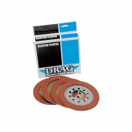 Drag Specialties Organic Clutch Friction Plates - Big Twin 1941-1967