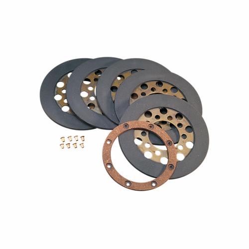 Drag Specialties Drag Specialties - Clutch Friction Plates - Wet or Dry - Shovelhead 1968-1984 OEM #37930-68