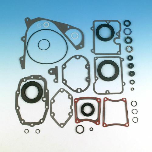 James Gasket James Gasket - Harley 5-Speed Transmission Gasket/Seal Kit OEM # 33031-85 - 1984-1999
