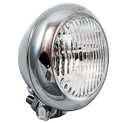 Universal Cycle Bezel Headlight - Chrome