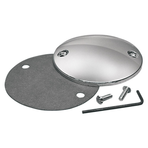 Chrome Point Cover Harley Sportster / Big Twin 2 Hole