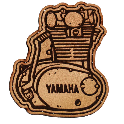 Throttle Addiction Yamaha XS650 Leather Patch