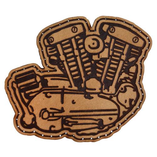 Throttle Addiction Harley Ironhead Leather Patch