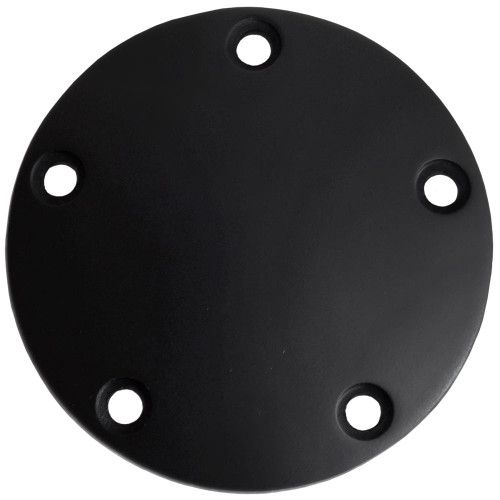 Universal Cycle Black Harley Twin Cam Point Cover - 5 Hole