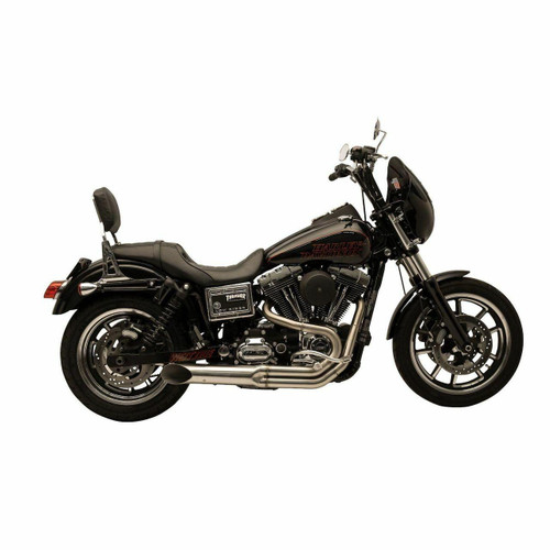 Supertrapp Supertrapp - Bootlegger 2-Into-1 System HD Dyna 2006-2017 - Stainless