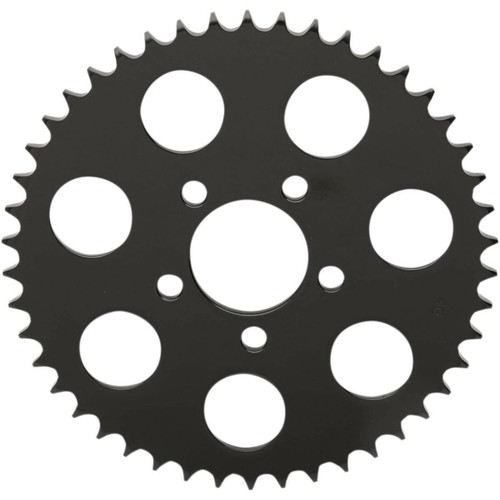 Drag Specialties Rear Sprocket for 2000-2018 Harley Chain Conversion - Gloss Black