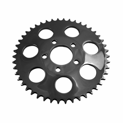 Drag Specialties Dished Rear Sprocket for 2000-2018 Harley Chain Conversion - Gloss Black