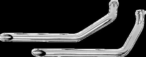 Paughco Shovelhead FX 2 Drag Pipes - 1970-1984