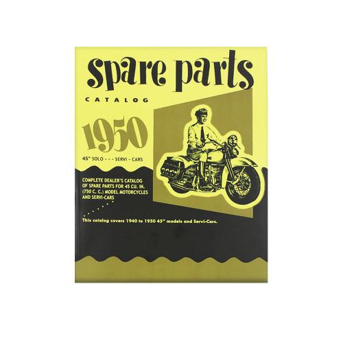 Spare Parts Catalog- 1940-50 Harley Davidson 45 Solo/ServiCar