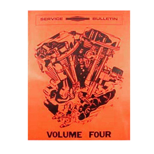 Factory Service Bulletin for Harley Davidson 1957-1969 Big Twins