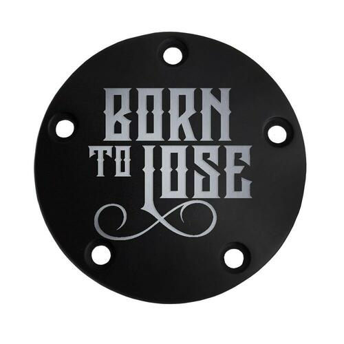 Harley Points Cover - Born to Lose - Black