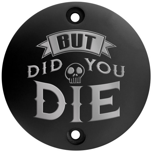 Harley Points Cover - But Did You Die - Black