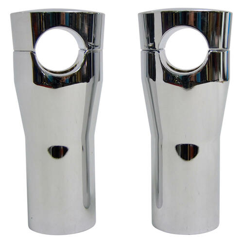 Universal Cycle 4 Springer Risers - Chrome