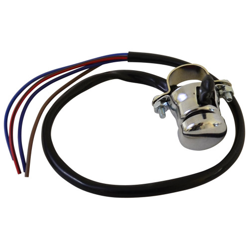 Throttle Addiction Hi/Low Selector With Horn/Kill Switch - 7/8 - Chrome