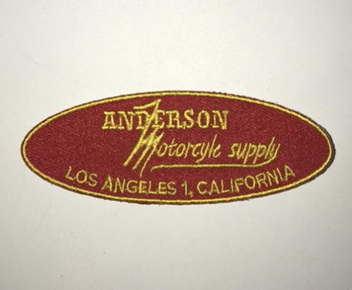 Anderson Motorcycle Supply Patch