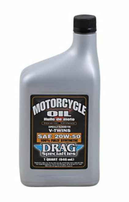Drag Specialties 20W50 Full Synthetic Motorcycle Oil