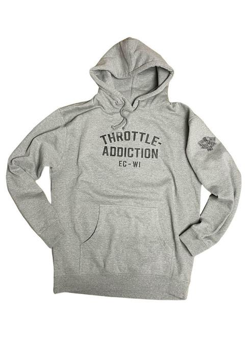 Throttle Addiction Hoodie - Gray