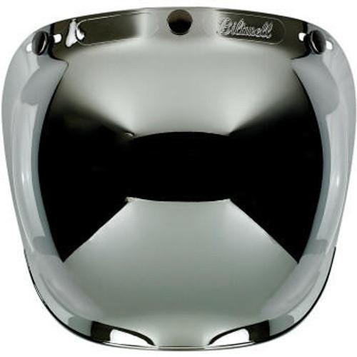 Biltwell - Anti Fog Bubble Shield - Chrome Mirror